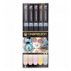 5-Pen Set Pastel