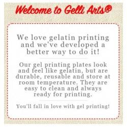gelli arts - printing plate 30.48cm*35.56cm