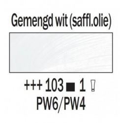Olieverf 15 ml Tube Gemengd wit