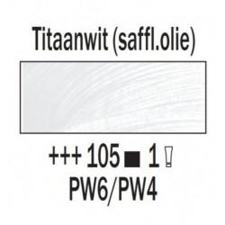 Olieverf 15 ml Titaanwit