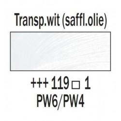 Olieverf 15 ml Transparantwit