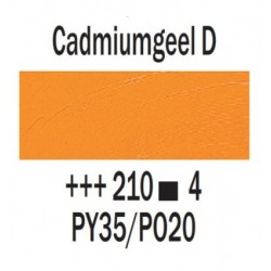 Olieverf 15 ml Cadmiumgeel donker