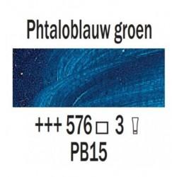 Olieverf 15 ml Phtaloblauw groenachtig