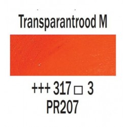 Olieverf 40 ml Tube Transparantrood midd