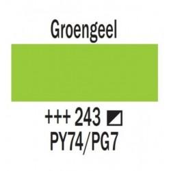 Acryl 250 ml Tube Groengeel