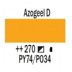 Acryl 250 ml Tube Azogeel donker