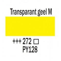 Acryl 250 ml Tube Transparantgeel middel