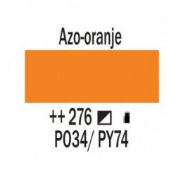 Acryl 250 ml Tube Azo oranje