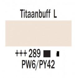 Acryl 250 ml Tube Titaanbuff licht