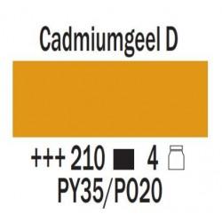 Acryl 75 ml Cadmium geel donker