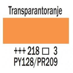 Acryl 75 ml Transparantoranje