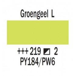 Acryl 75 ml Groengeel licht