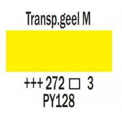 Acryl 75 ml Transparantgeel middel