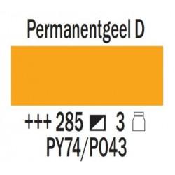 Acryl 75 ml Permanentgeel donker