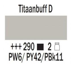 Acryl 75 ml Titaanbuff donker
