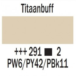 Acryl 75 ml Titaanbuff