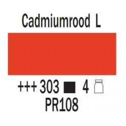 Acryl 75 ml Cadmiumrood licht