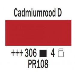 Acryl 75 ml Cadmiumrood donker