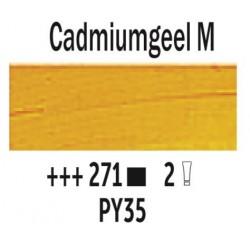 Olieverf 40 ml Tube Cadmiumgeel middel