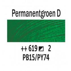 Olieverf 40 ml Tube Permanentgroen donke