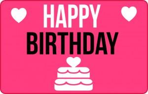 Happy Birthday heart